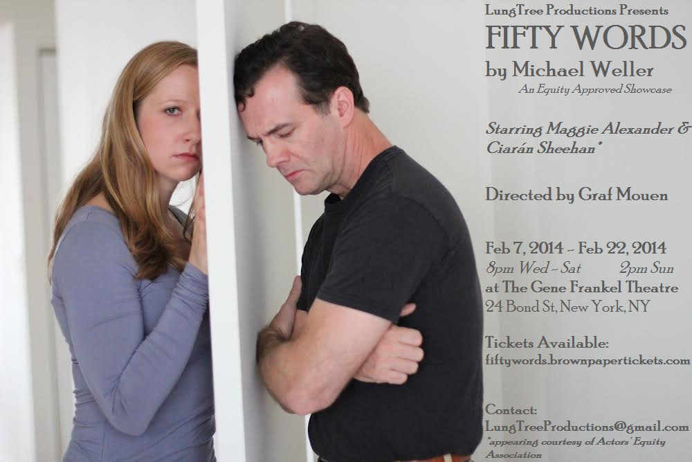 Fifty Words Poster